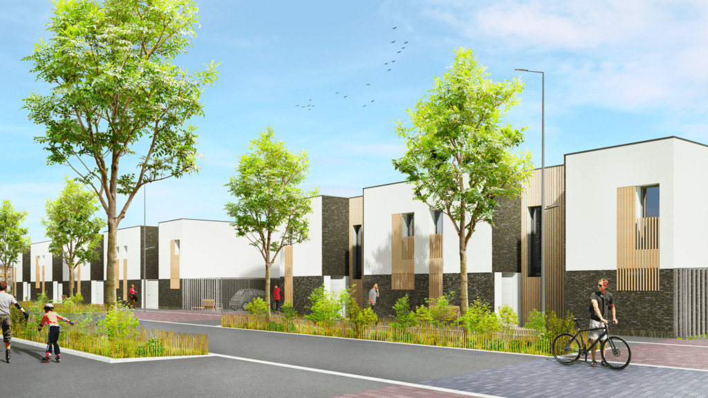 Découvrez notre nouveau programme immobilier neuf à Béthune de 25 maisons neuves à vendre. La Résidence Le Konnect comprend des maisons T4 à Béthune