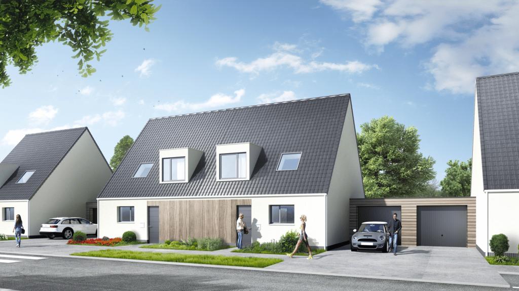 Découvrez notre nouveau programme immobilier neuf à Avion de 10 maisons neuves à vendre. La résidence Les Contemporaines comprend des maisons neuves individuelles du T4 au T5 à Avion