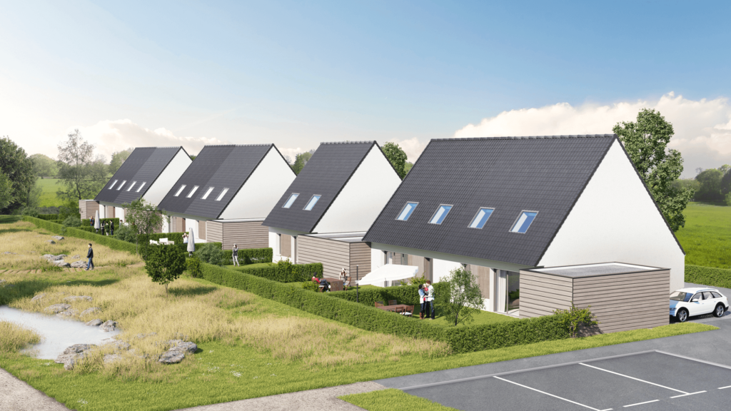 Découvrez le programme immobilier neuf de Territoires 62 à Méricourt : 9 maisons neuves sont à vendre. La résidence Les Contemporaines comprend des maisons neuves individuelles du T4 au T5 à Méricourt