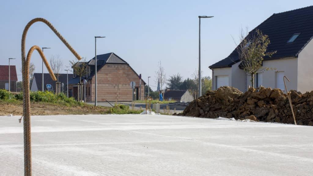 Territoires 62 commercialise des terrains à bâtir à Lapugnoy à vendre viabilisé et libre de constructeur